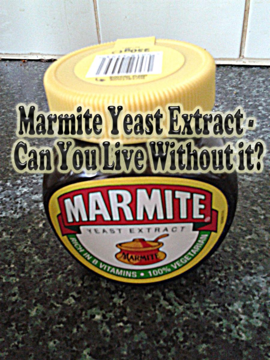 Jar of Marmite on my kitchen counter