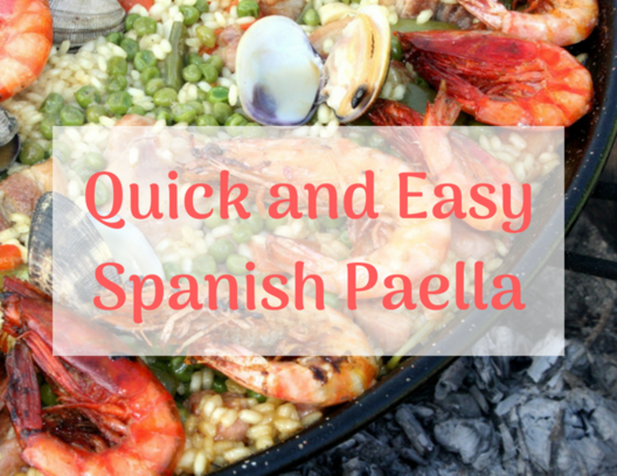 I learned this recipe after spending lots of time in Spain with my family.