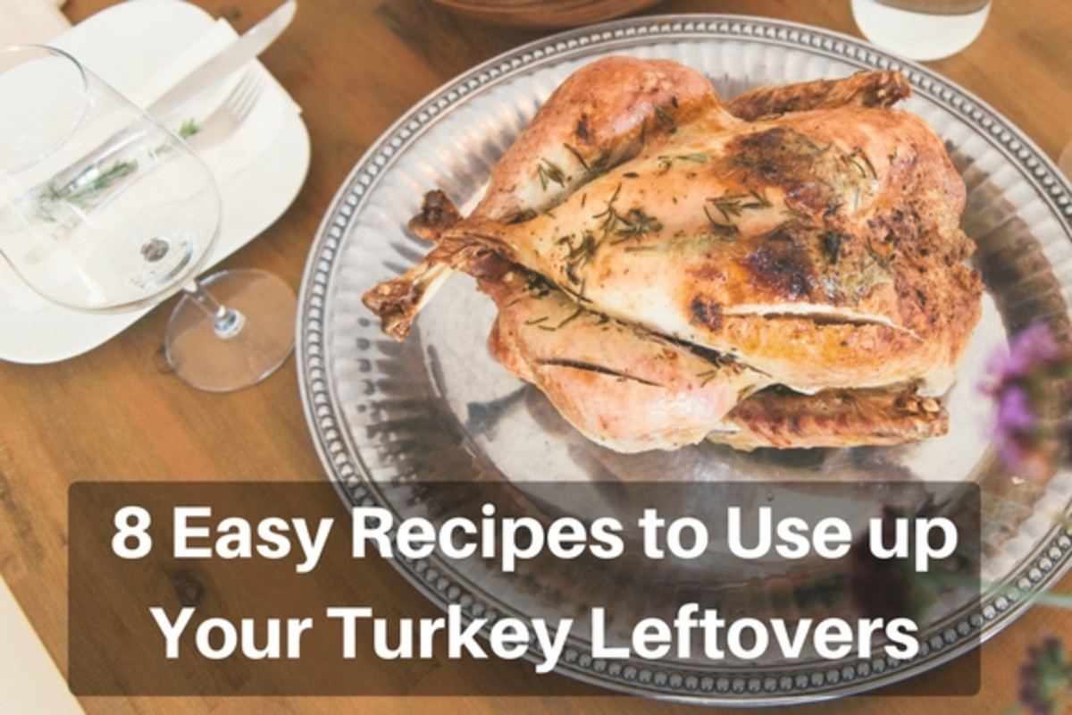 8 Quick and Easy Recipes to Use up Leftover Turkey and Chicken