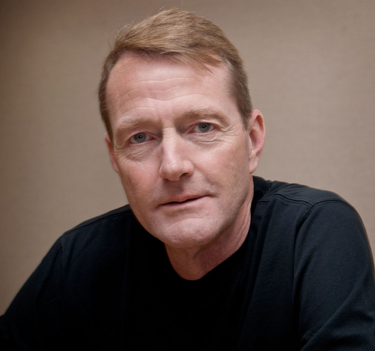 Lee Child, author of the Jack Reacher series.