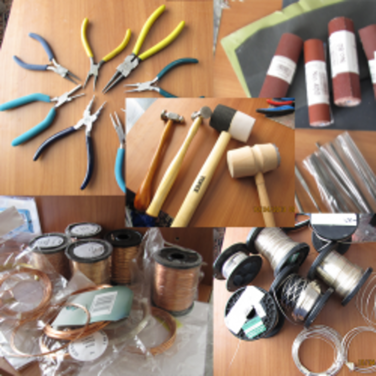 Basic Tools for Wire Wrapping Jewelry