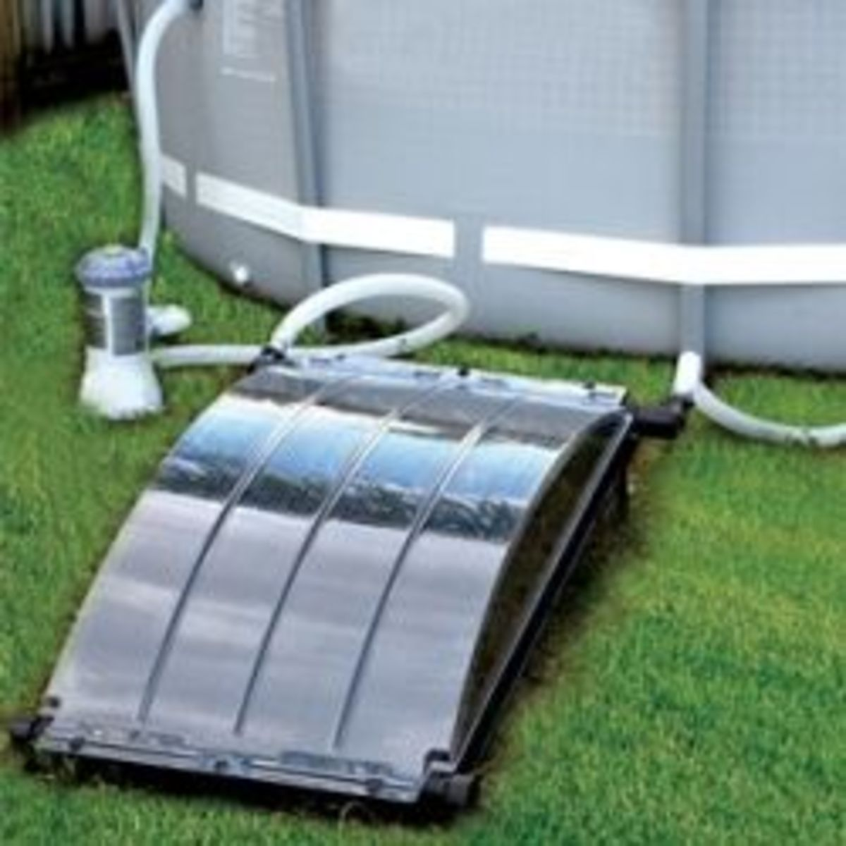 My review of the solar arc solar pool heater dengarden - Heated swimming pool running costs ...