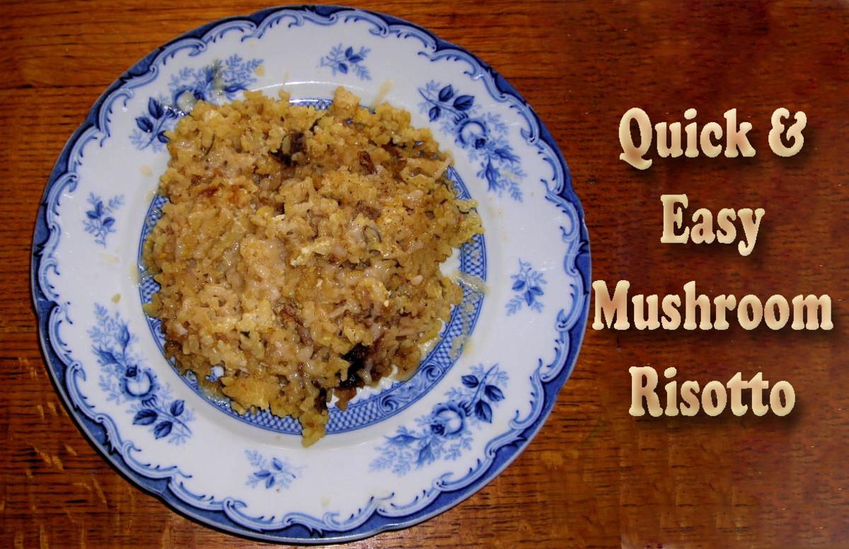Quick and Easy Mushroom Risotto Recipe