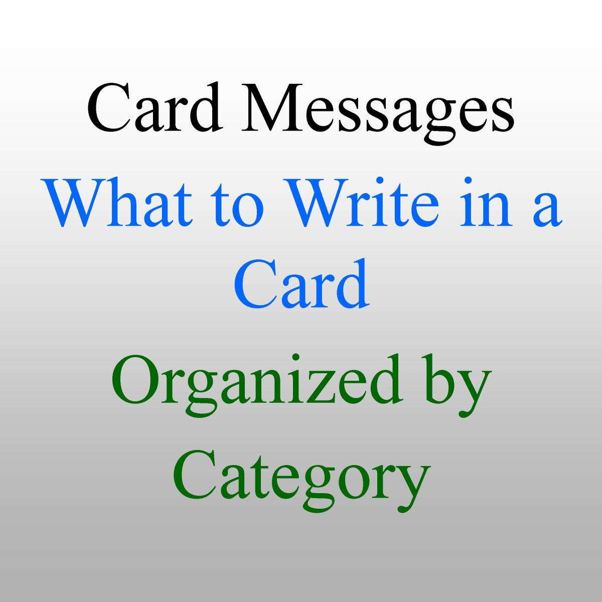 What to Write in a Greeting Card: Messages and Wishes