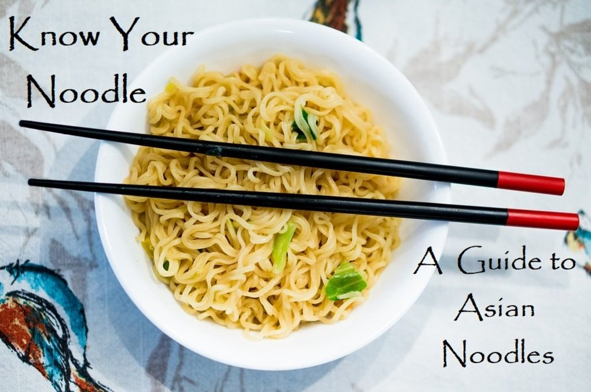 Asian noodles are more than pad Thai.