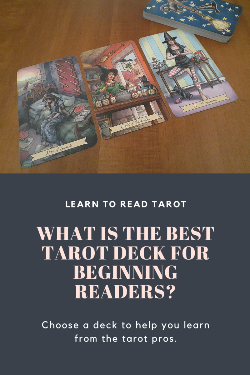 Choose a tarot deck with vivid imagery that tells a story to make learning to read tarot easier!