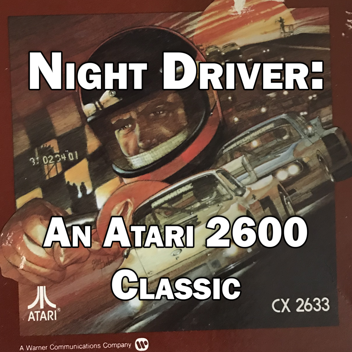 Night Driver for the Atari 2600 is still an awesome game.