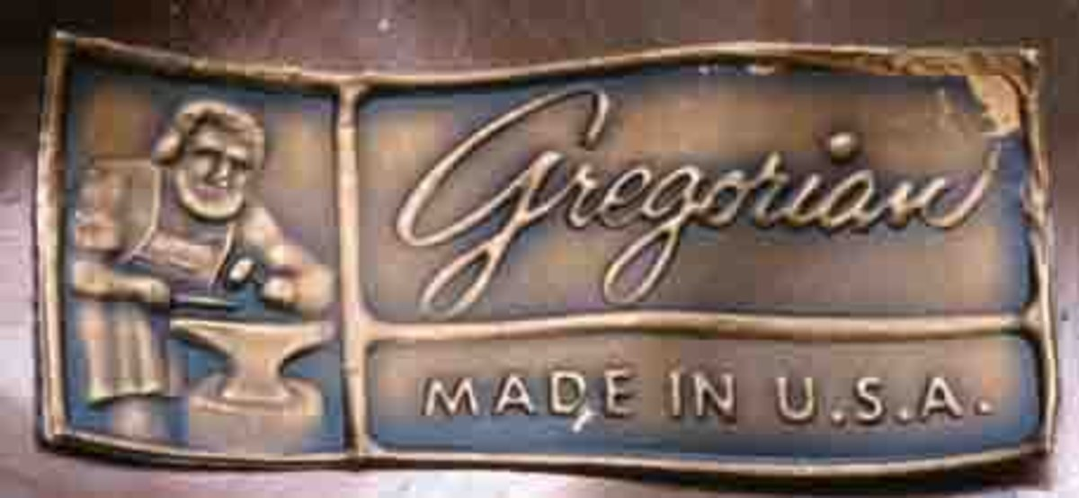 Gregorian copper mark