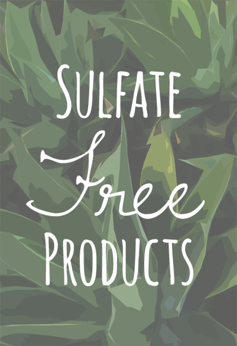 Sulfate Free Shampoos, Facial Cleansers, Toothpaste, Body Wash, and Hand Soap
