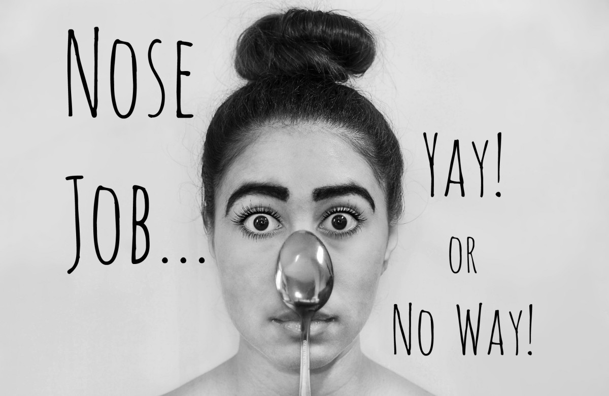 If you're thinking of getting a nose job, make sure you know exactly what you're getting into.