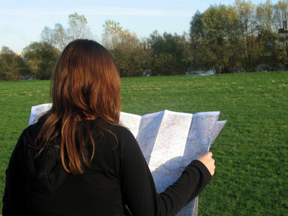 Land Navigation Without a Compass or GPS