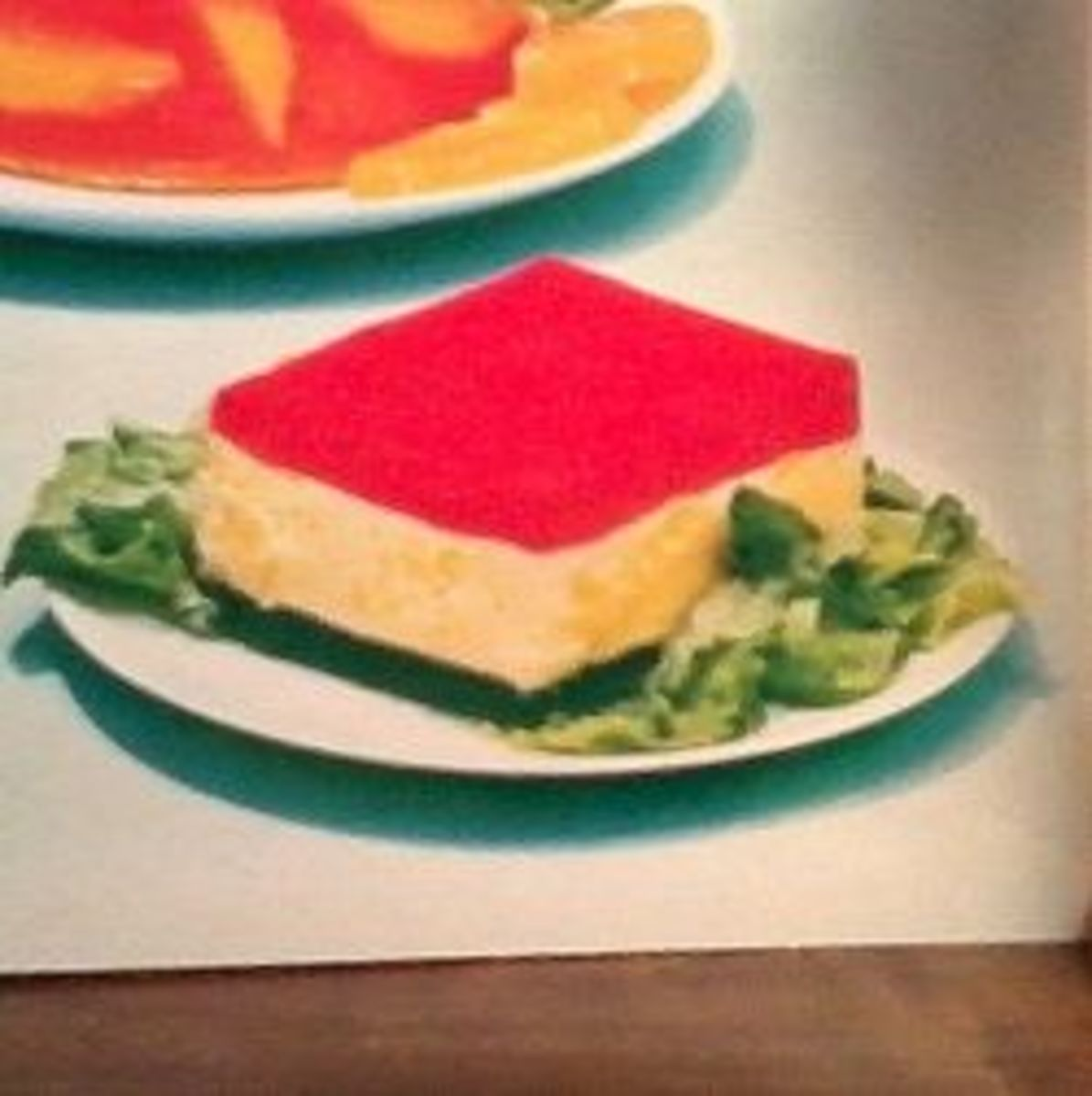Vintage Jello Ribbon Salad Recipe