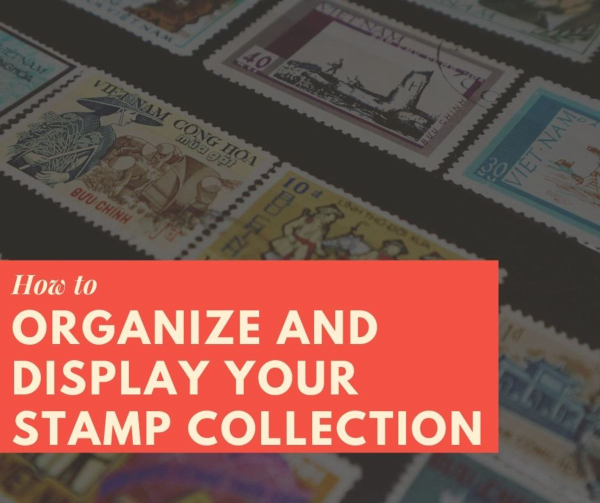How to Organize and Display a Postage Stamp Collection