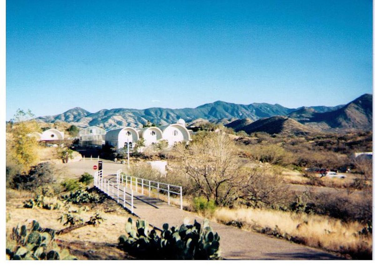 A Tour of Biosphere 2 in Oracle, Arizona
