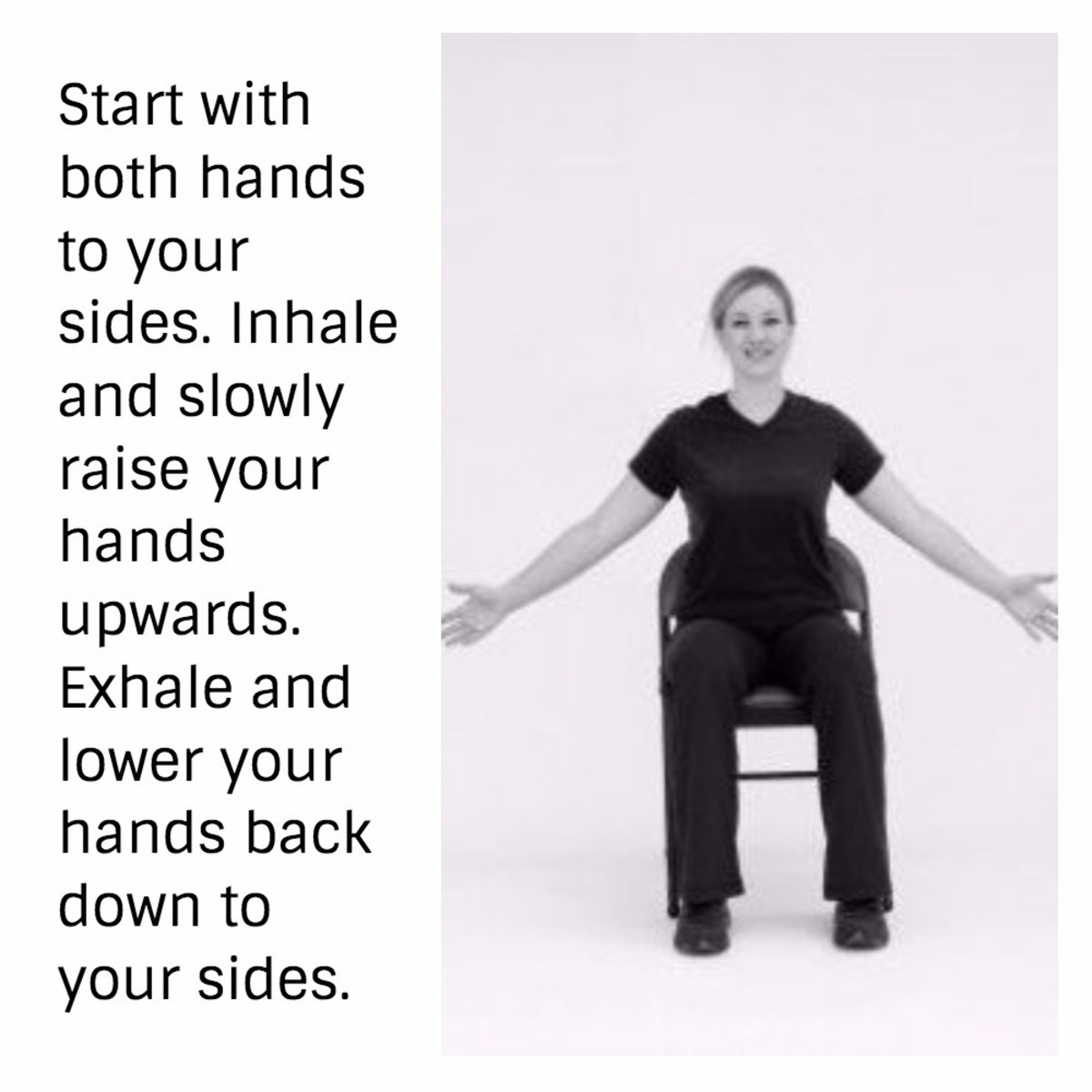 Chair exercises for seniors - 28 Strength Training Balance Chair Exercises For Seniors Caloriebee