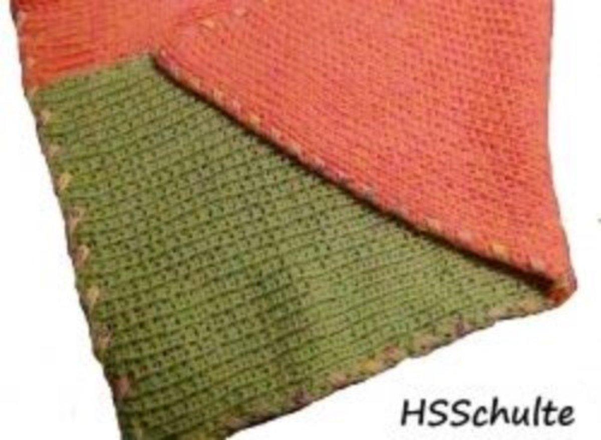 Knifty Knitter Blanket