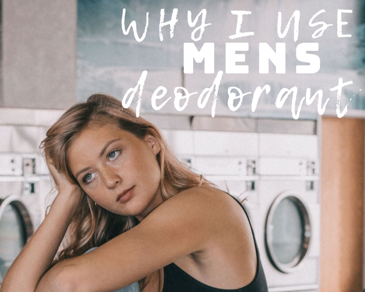 Why I Switched From Women's to Men's Deodorant