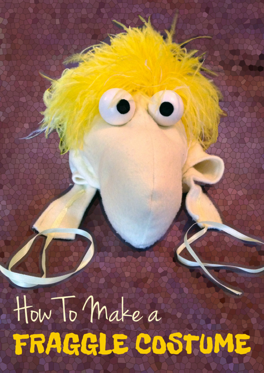 How to Make a Fraggle Costume