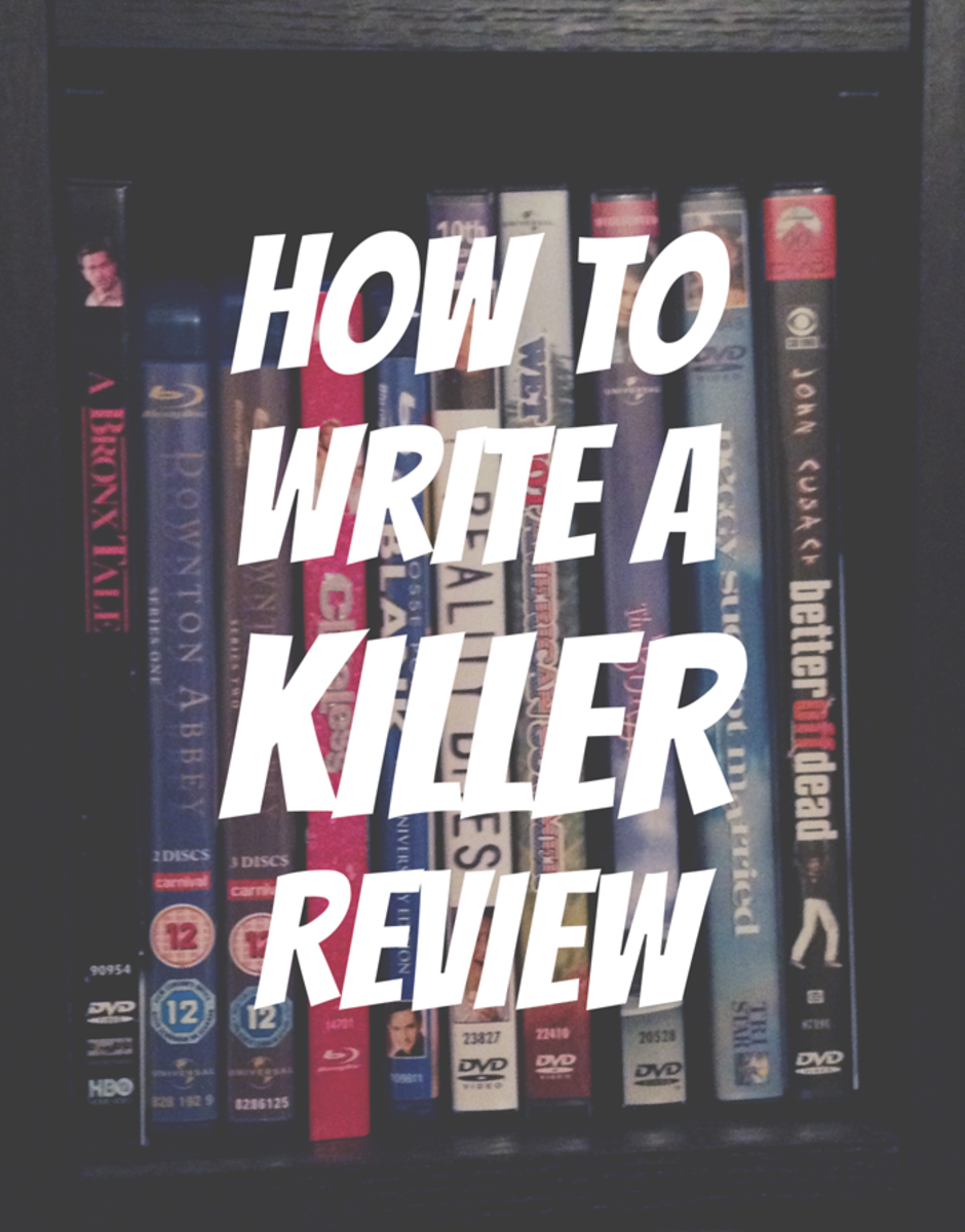 How To Write a Killer Movie or Music Review
