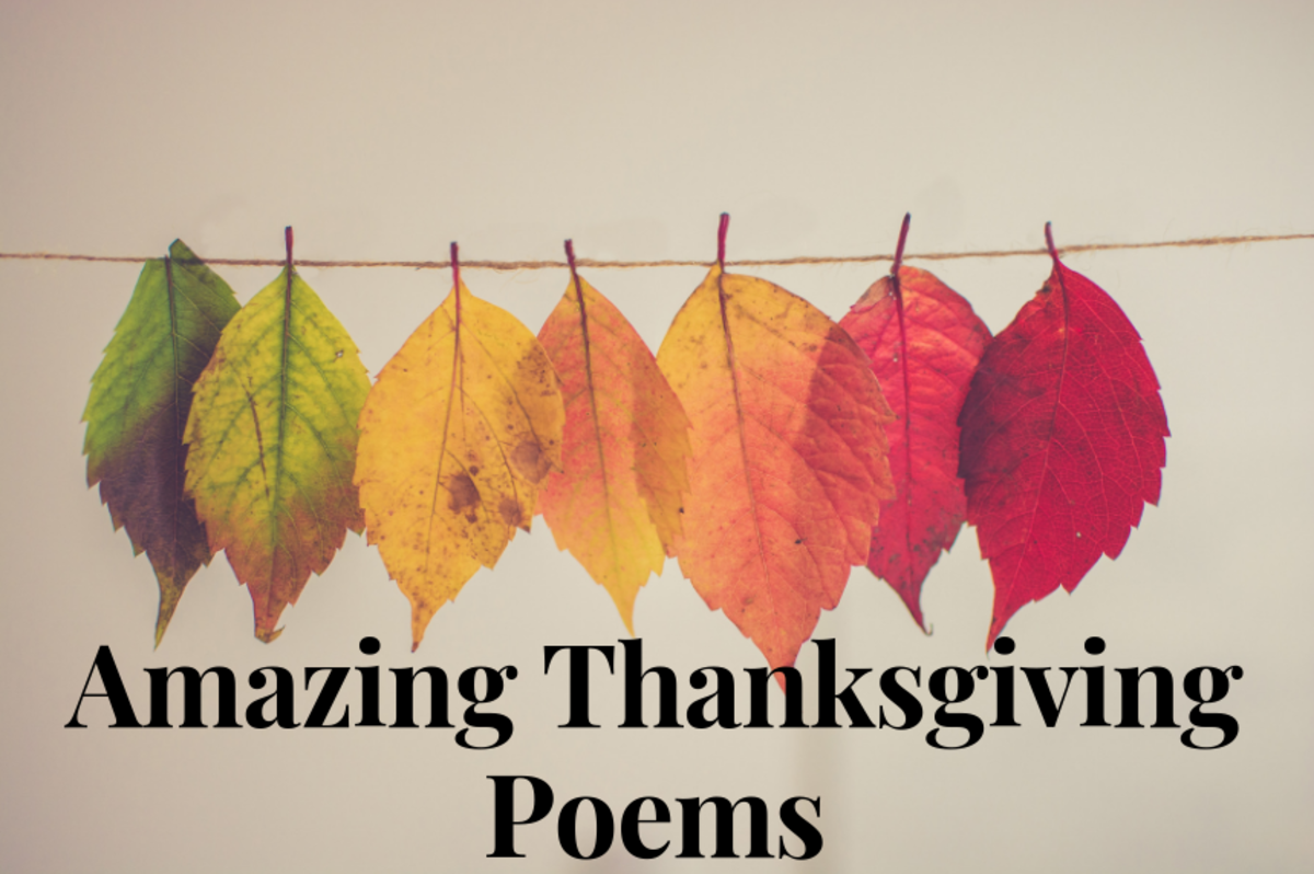 These poems are perfect to read at your Thanksgiving Day celebration.
