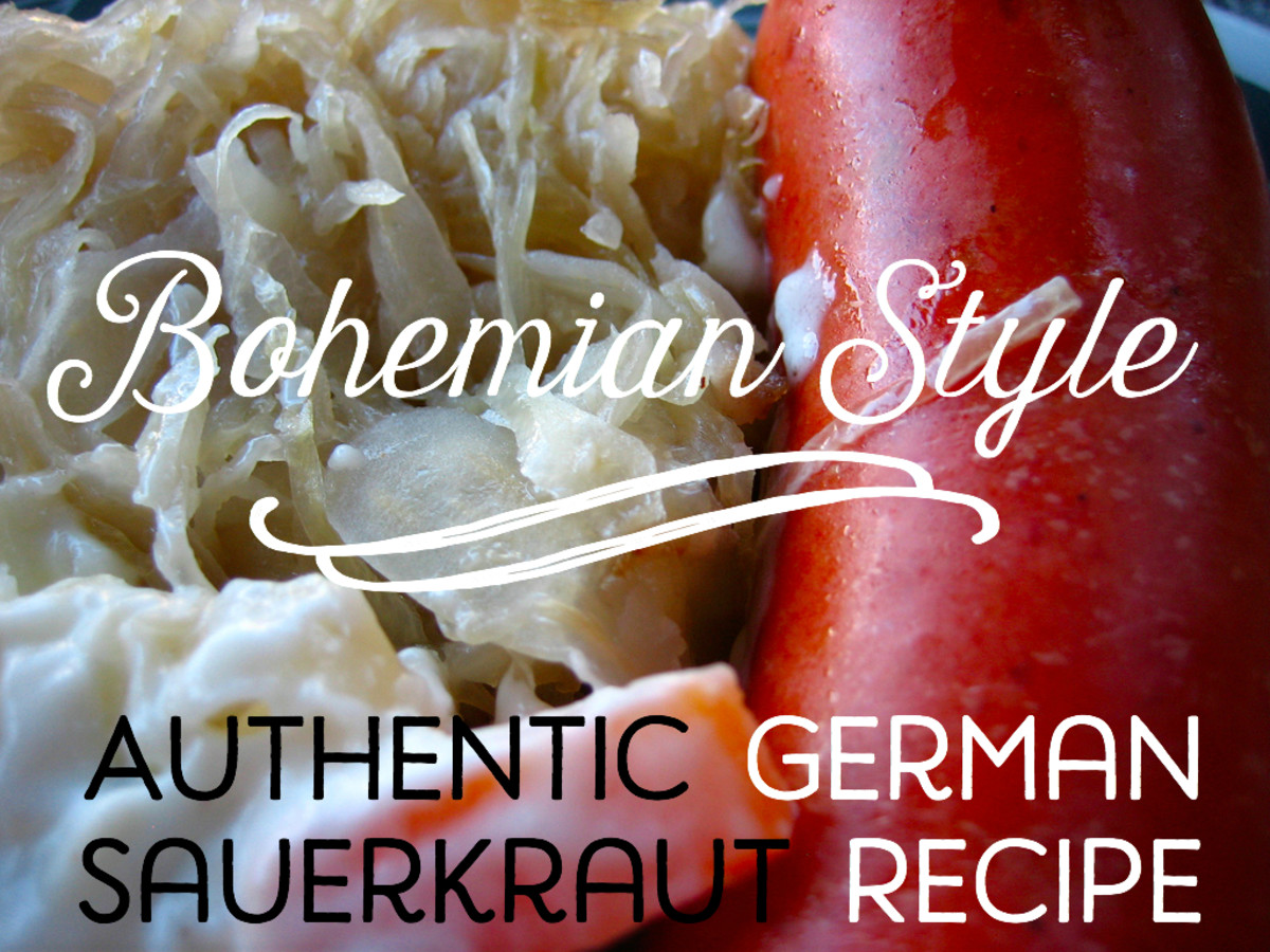 In addition to being delicious, sauerkraut is jam-packed with probiotics!