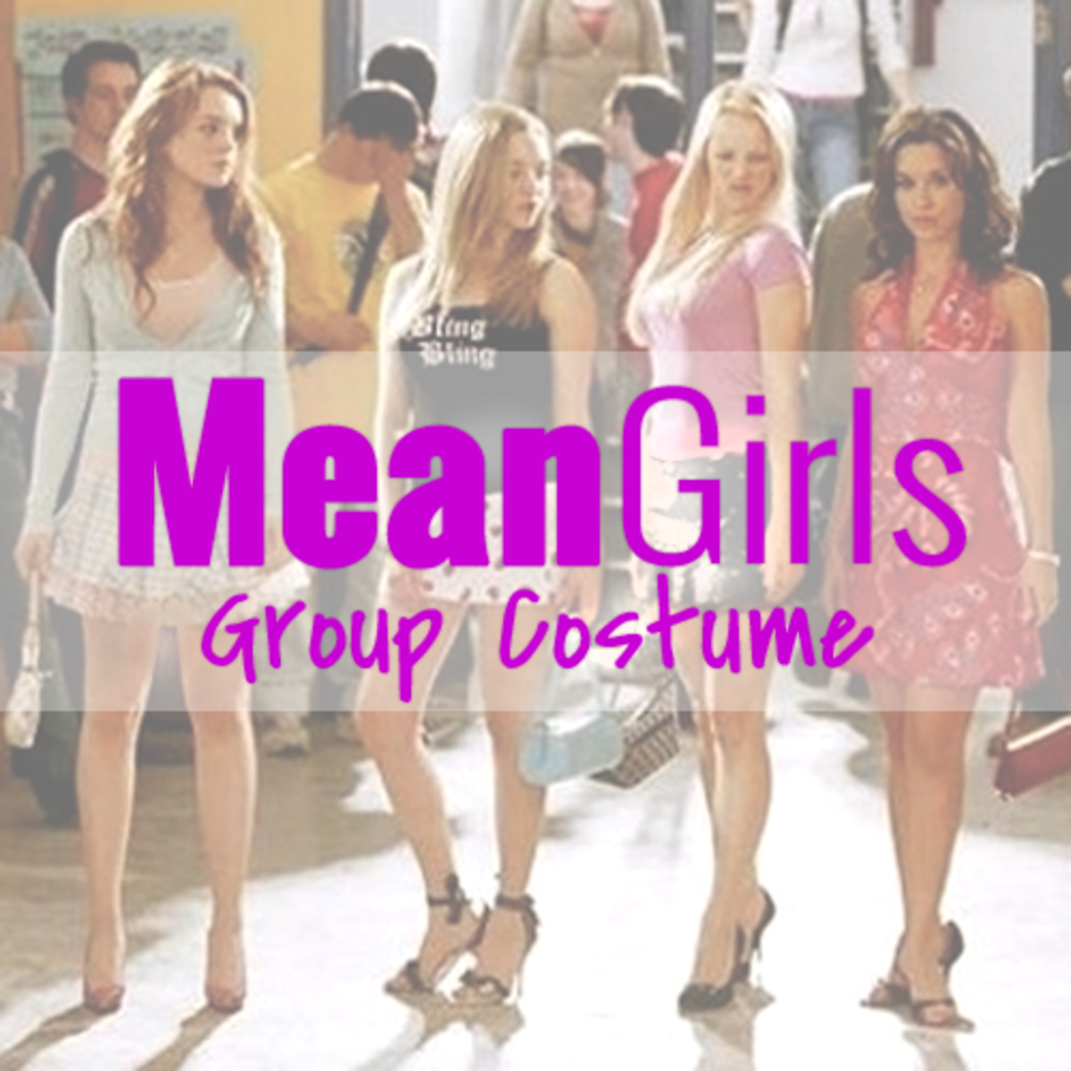 How to Put Together a Mean Girls Group Costume