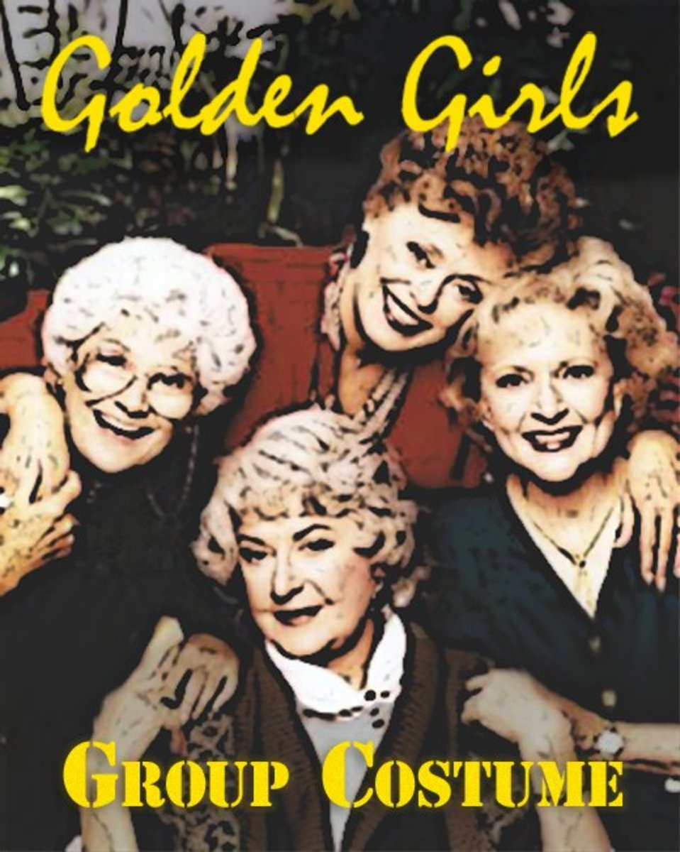 0240661d7 Golden Girls: A Group Costume for Women (and Men) | Holidappy