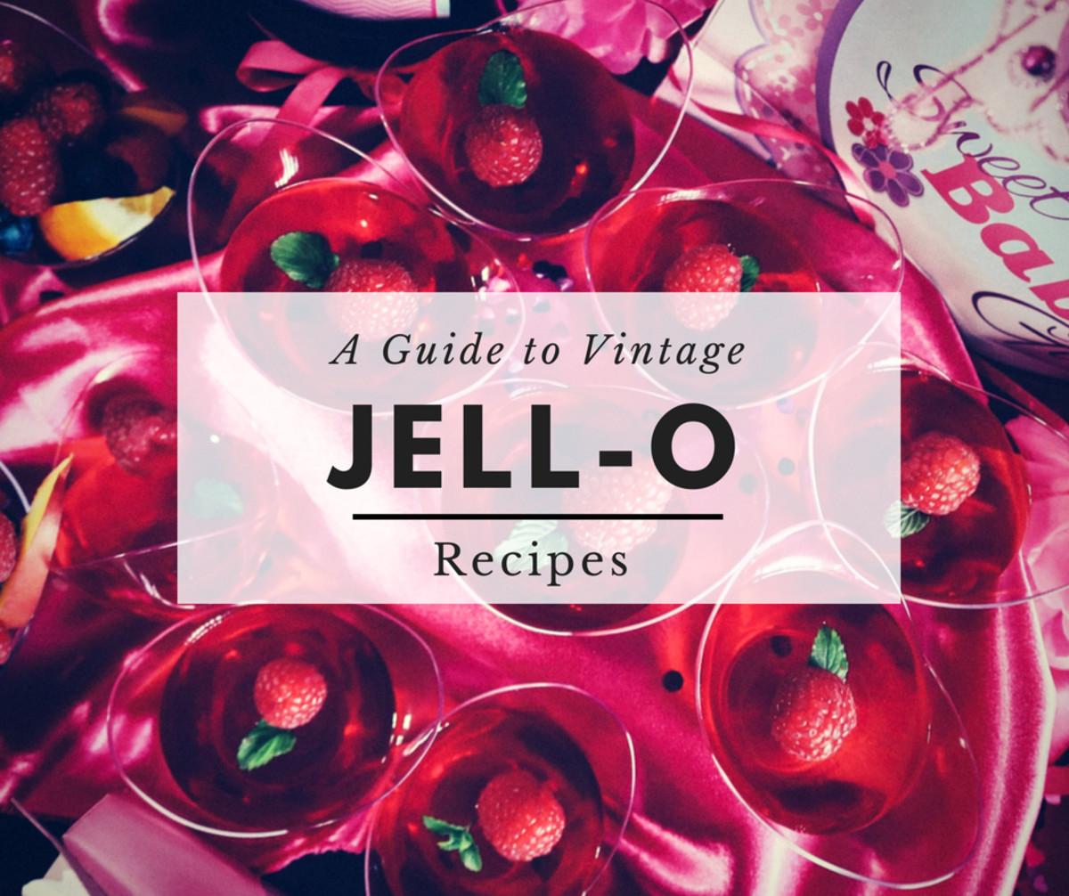 Three Amazing Vintage Jell-O Recipes