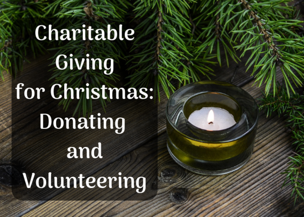 Give of your time and money this Christmas with these 15 ideas for donations and volunteering.