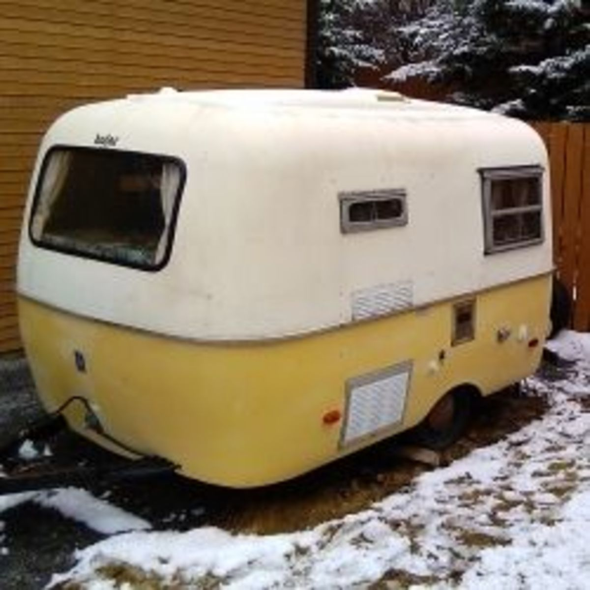 Fiberglass Boler Trailers - The Egg