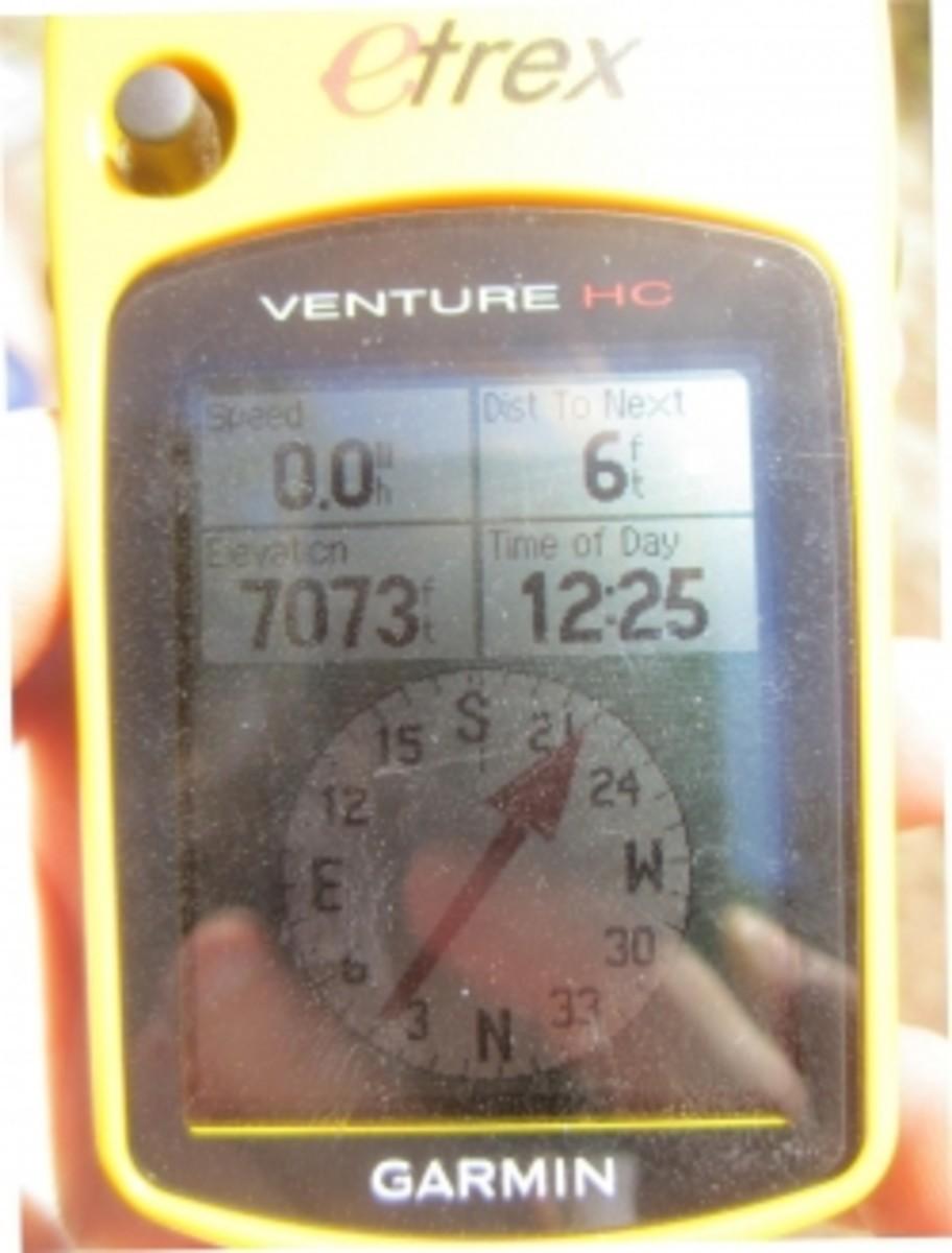 My Garmin eTrex Venture HC.GPS