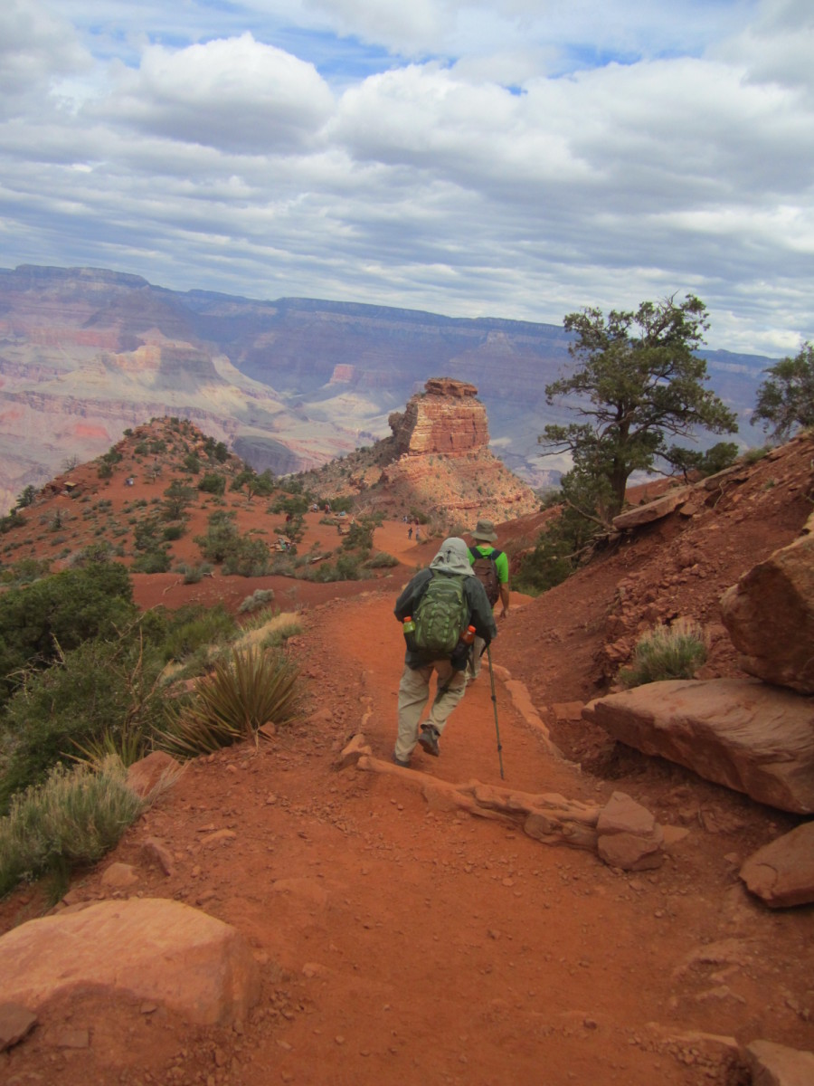 Grand Canyon Hike: South Kaibab Trail - Tonto Trail West - Bright Angel Trail