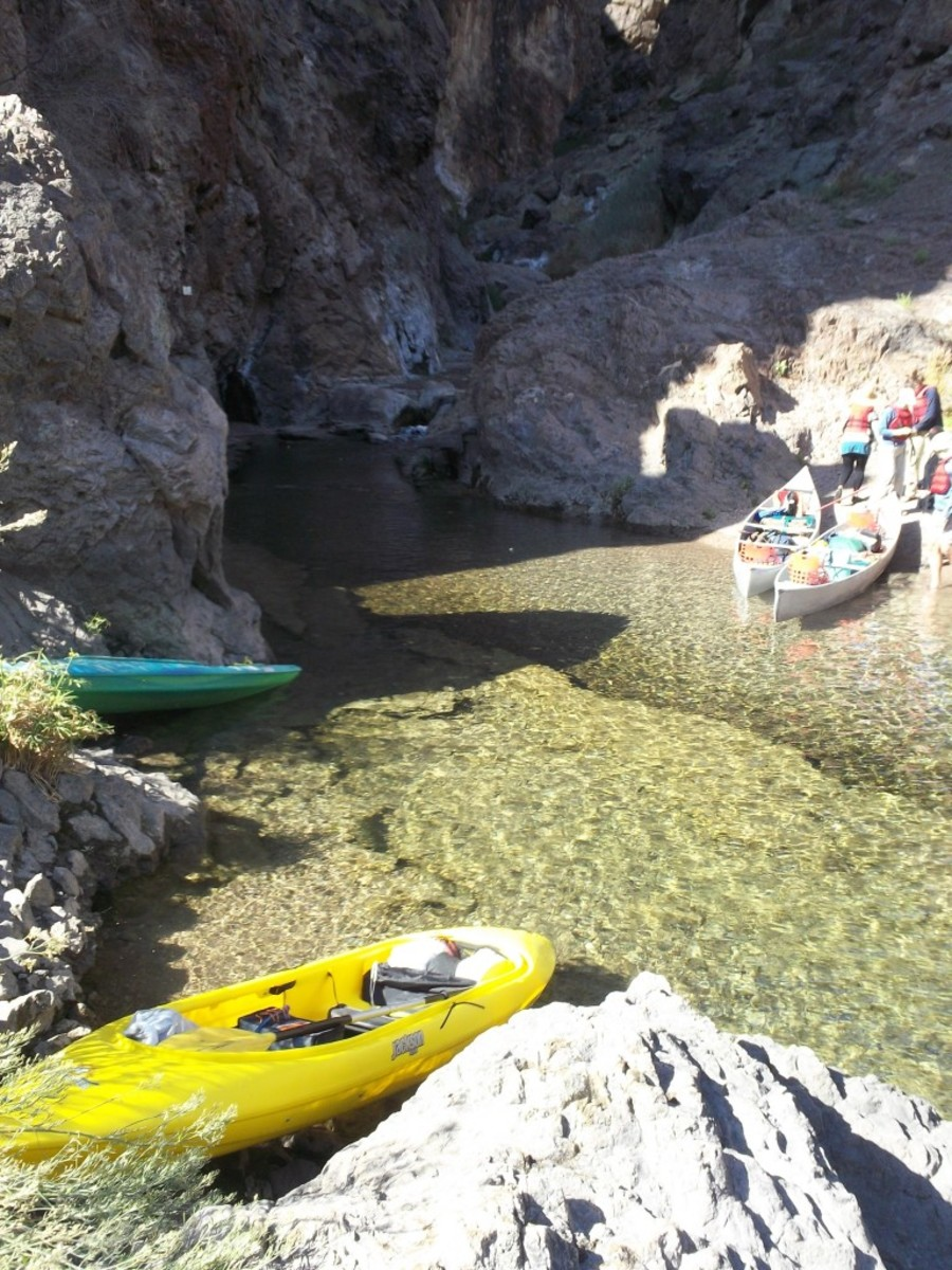 Black Canyon Canoe Trip: Hoover Dam to Willow Beach