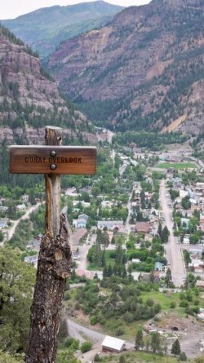 Hiking in Ouray, Colorado