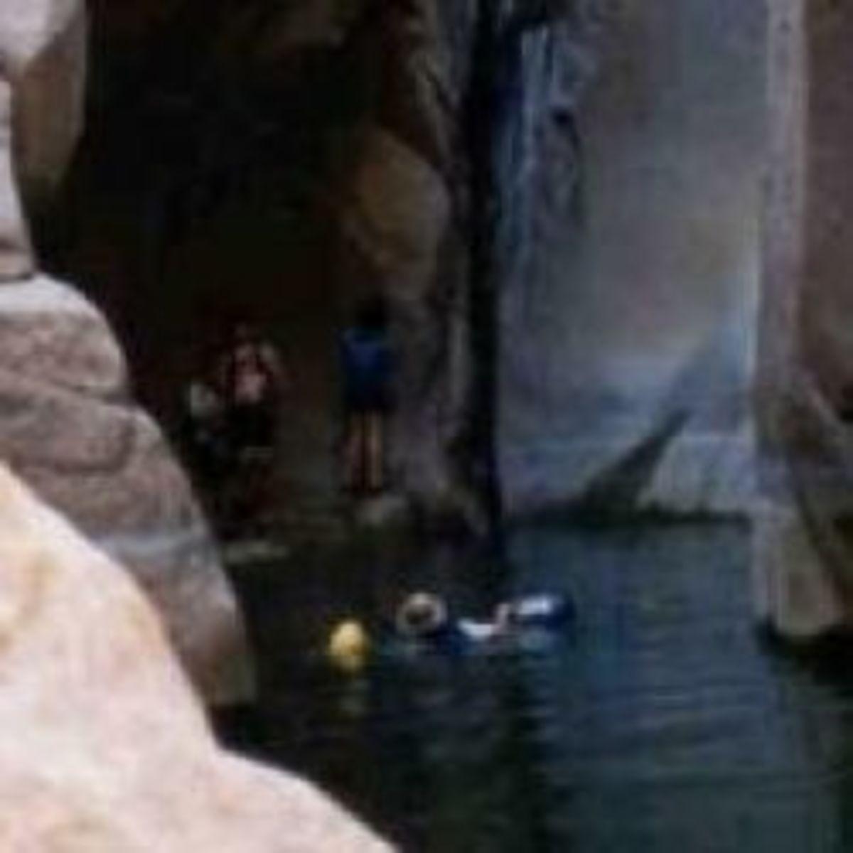 Hike And Swim Arizona's Salome Jug