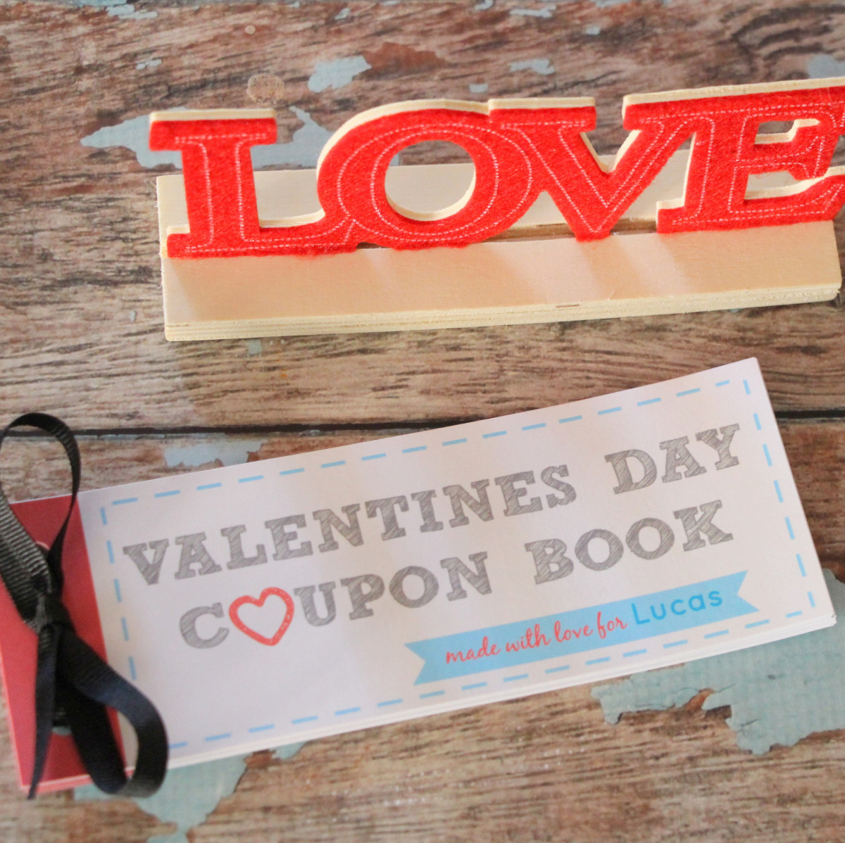 Homemade Coupon Book Gift Ideas for Any Holiday or Occasion