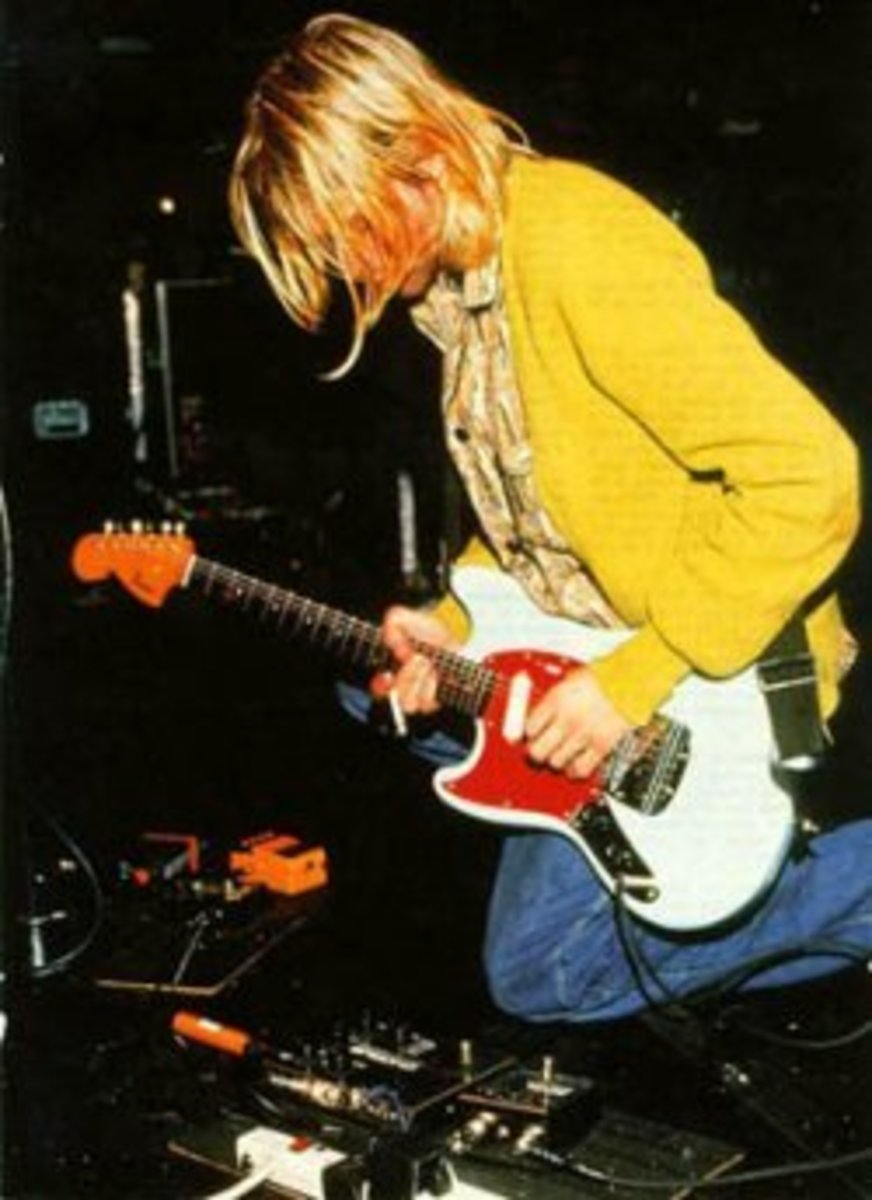 Kurt Cobain's Unique Pedals and Settings