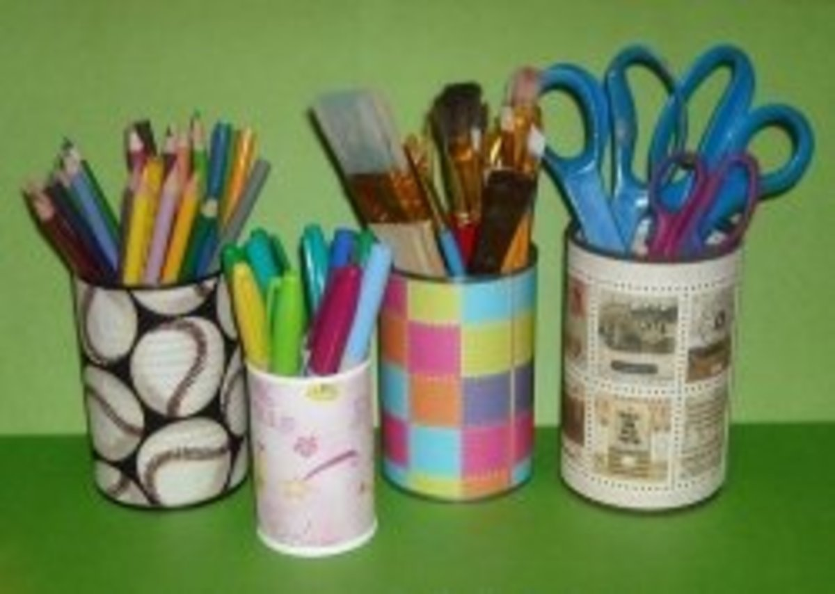 Upcycle Your Tin Cans With These Fun Recycling Crafts