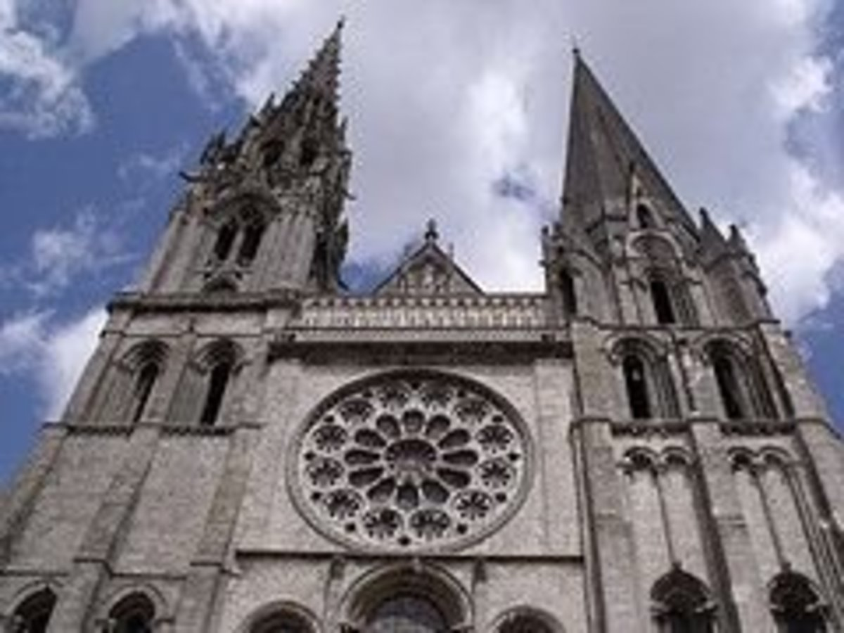 Cathedral Notre Dame, Chartres