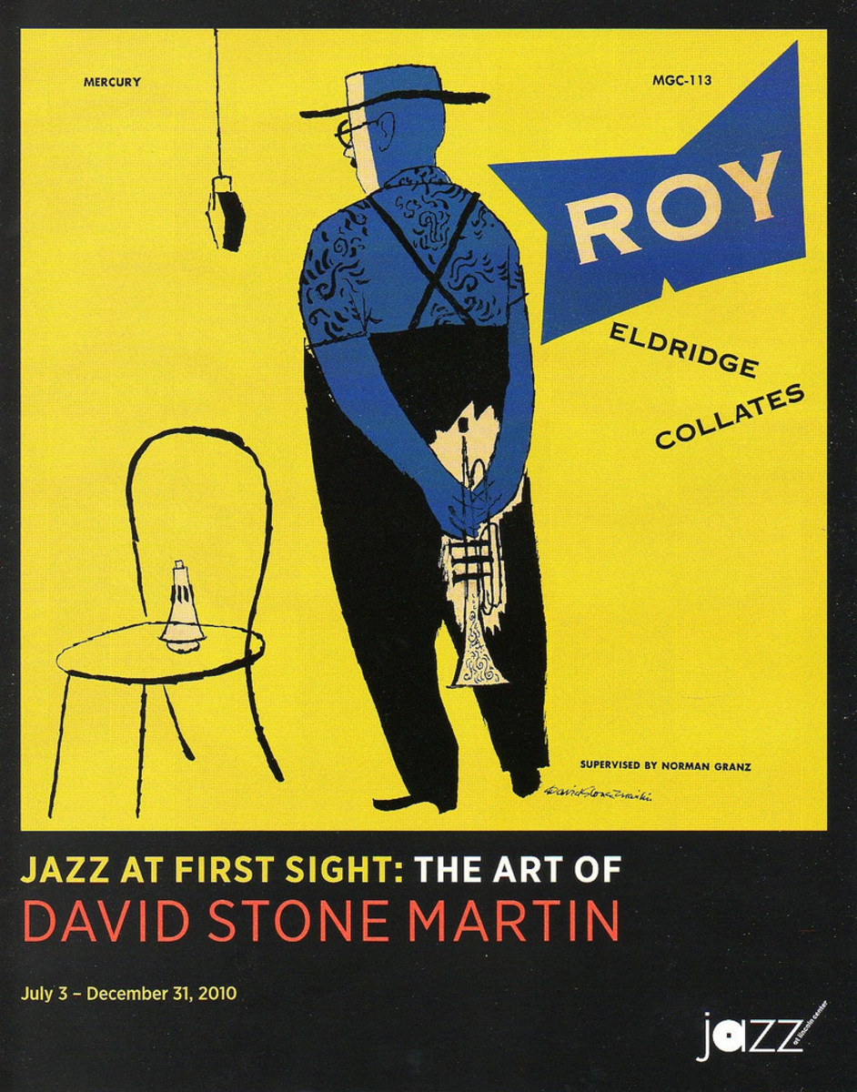 Jazz at First Sight: The Art of David Stone Martin Exhibition Poster 2010