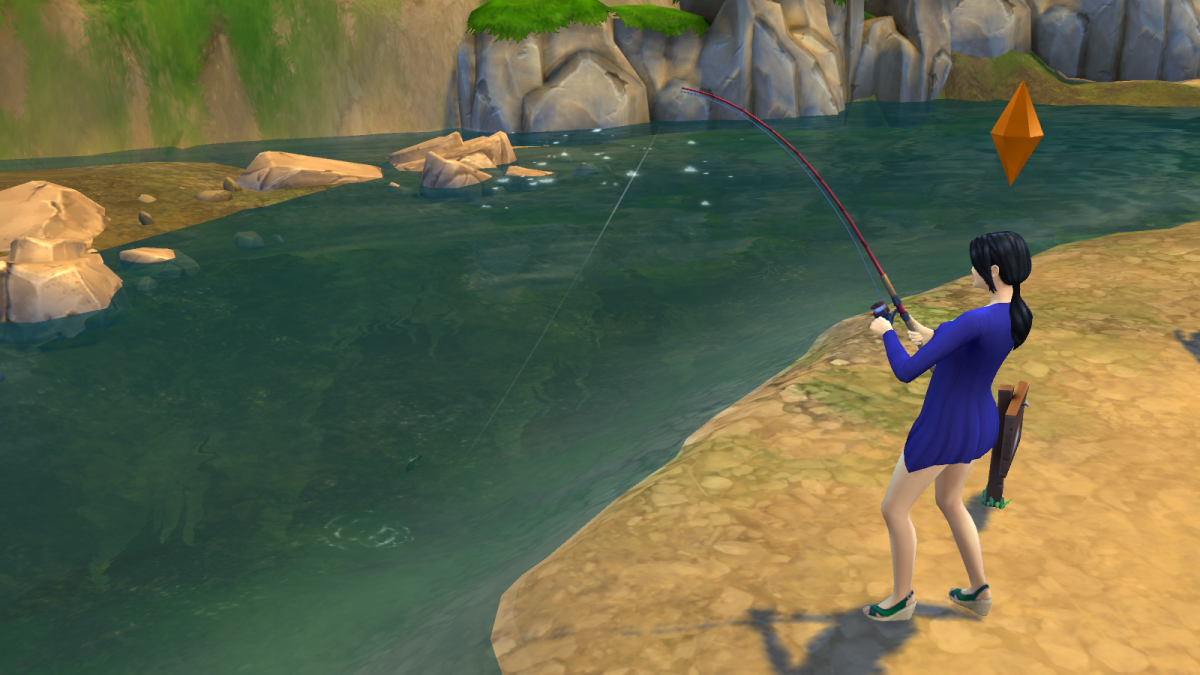 The Sims 4 Walkthrough: Fishing Guide