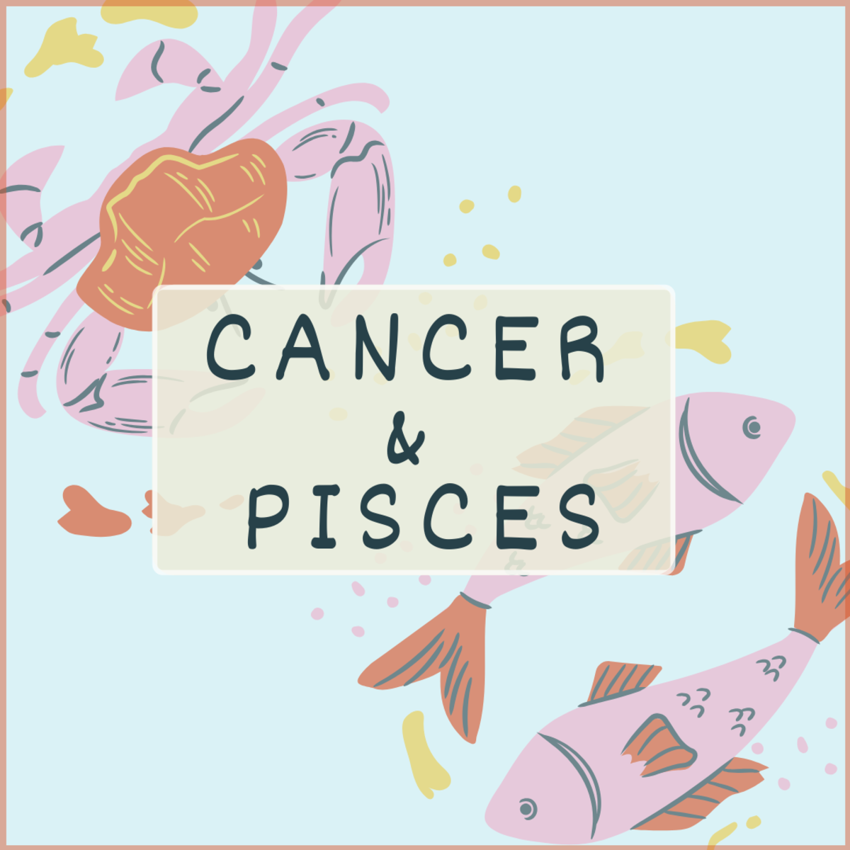 Pisces and Cancer are a natural match, but what exactly makes these two water signs so deeply compatible?