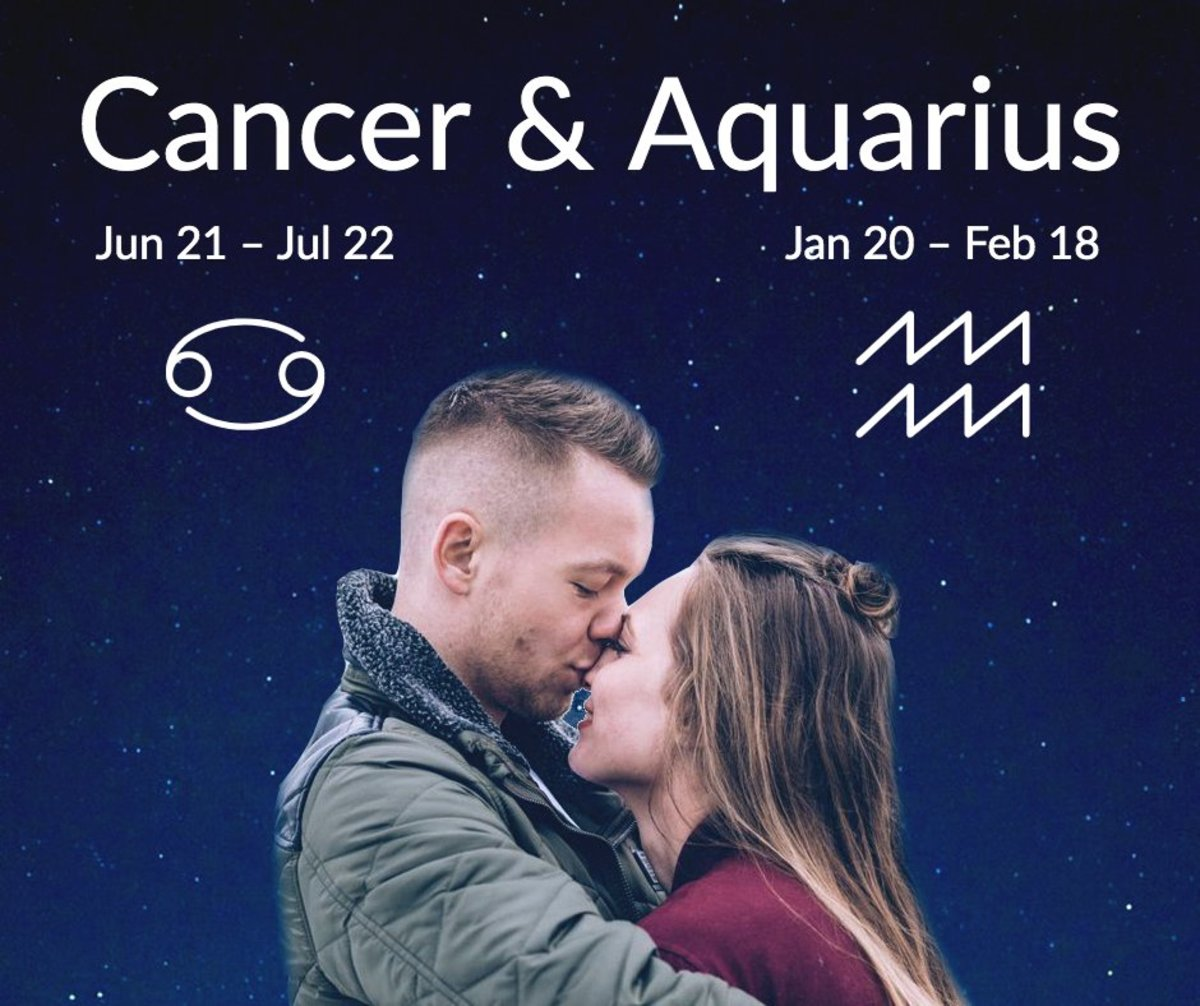 Why Cancer and Aquarius Attract Each Other and Tips for