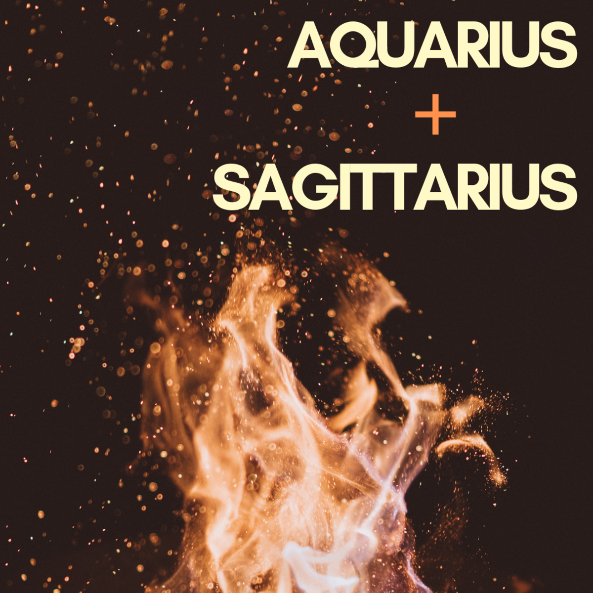 Where wind and fire meet, there are sure to be sparks. Read on to find out what makes Aquarius and Sagittarius such a perfect match.