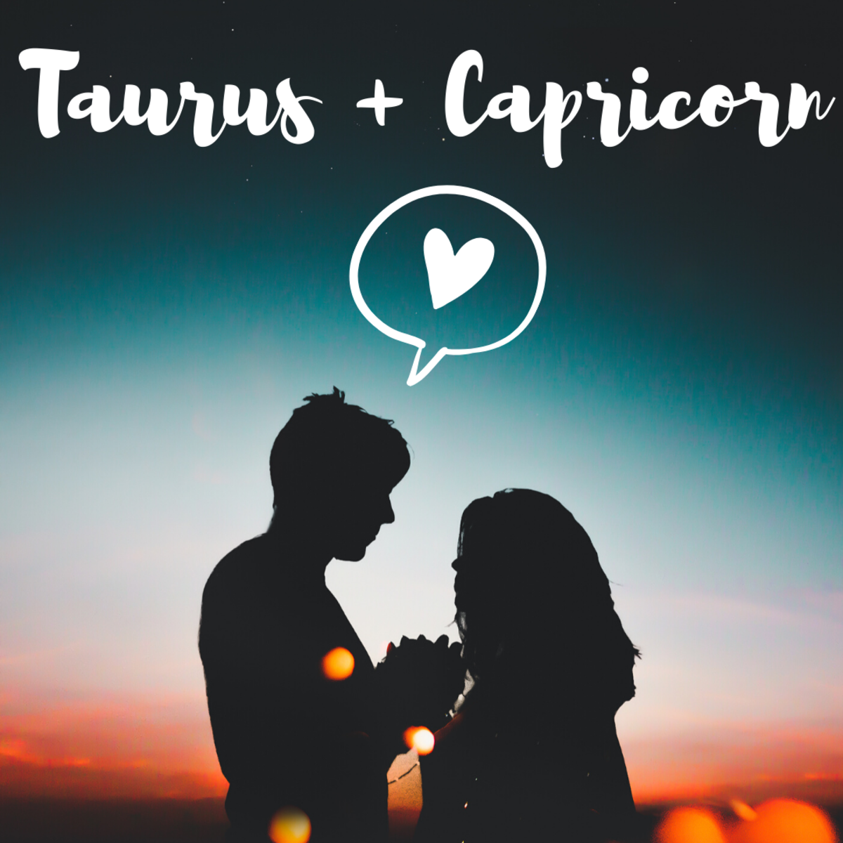 Spring and winter meet when Taurus and Capricorn get together, creating an undeniable and indelible bond.