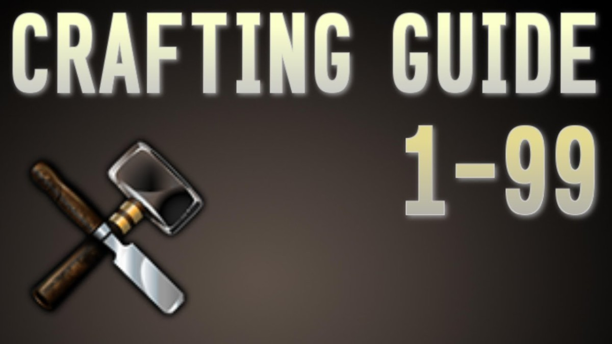 Runescape 3: 1-99 F2P/P2P Crafting Training Guide 2018