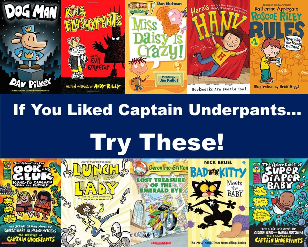 16 Books for Kids Who Liked Reading Captain Underpants