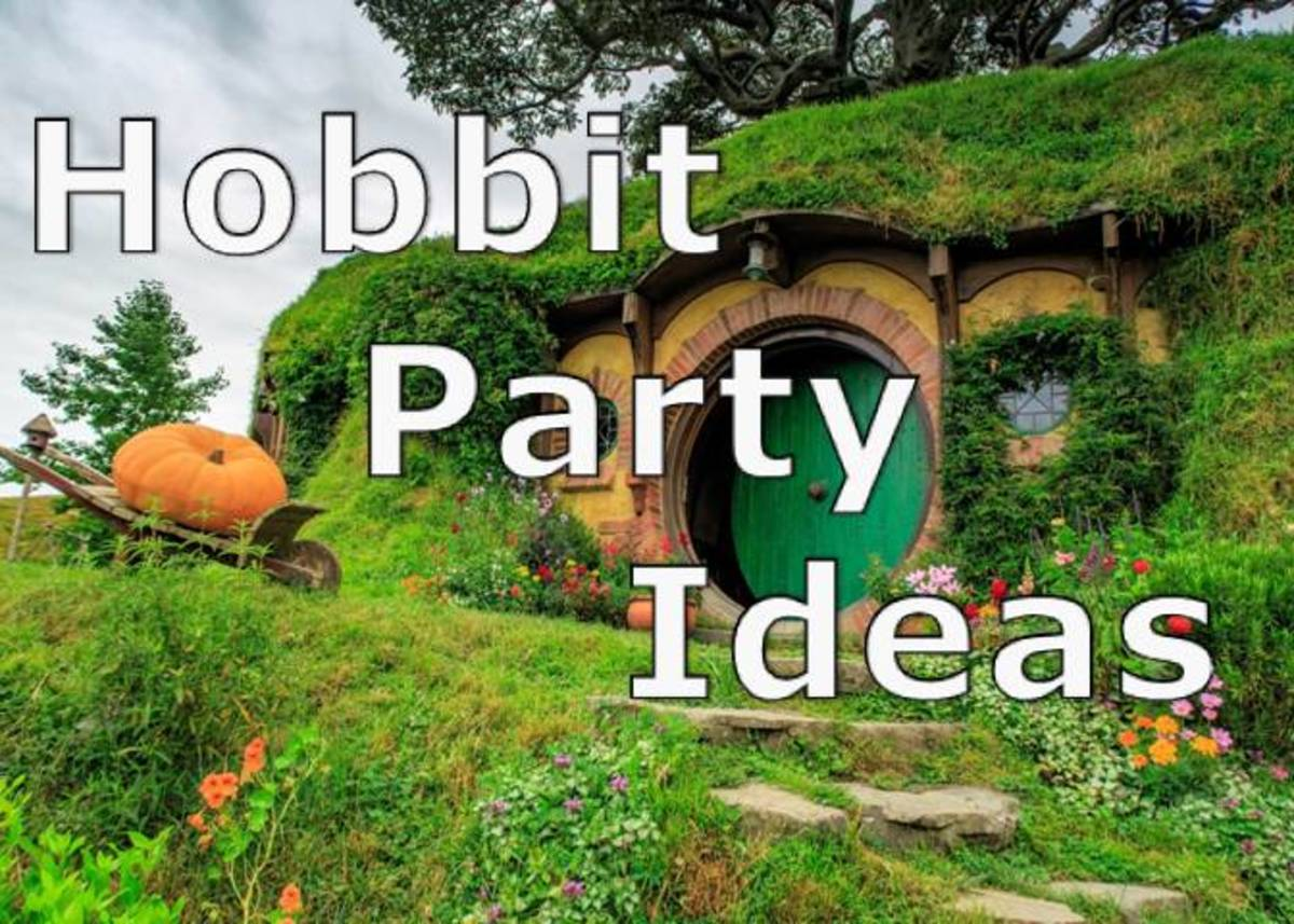 Hobbit Party Ideas: Printable Games, Activities, and Food