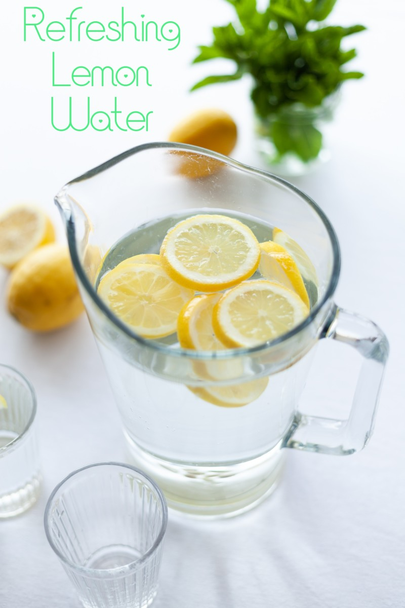 Add lemon water to your diet and  enjoy the health benefits