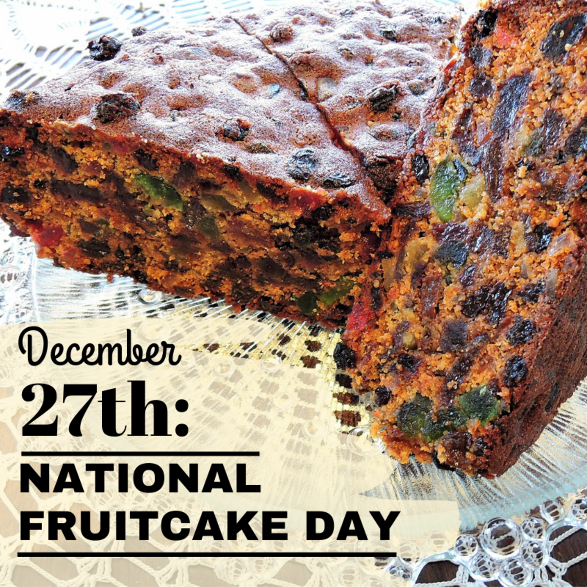 Did you know that Christmas' most polarizing dessert has its own national holiday?